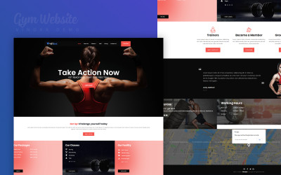 Website GYM